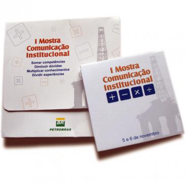 Material de comunicação para a Petrobras